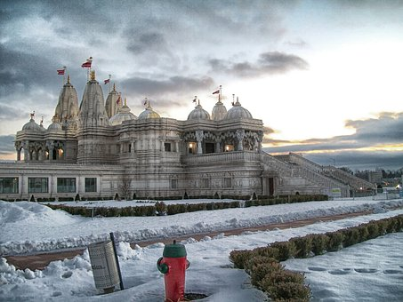 Toronto, Canada, Shri Swaminarayan Mandir, Temple