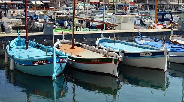Boat, Fishing, Traditional, The Sharp, Port Of Cassis