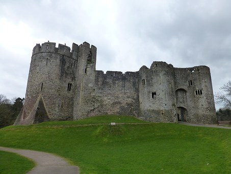Chepstow, Castle, Wales, History, Fortress, Tower
