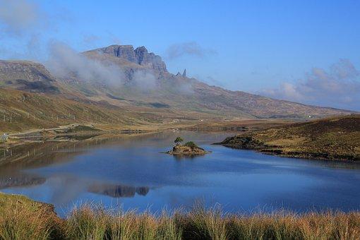 The Storr, Scotland, Skye, Landscape, Travel, Mountain