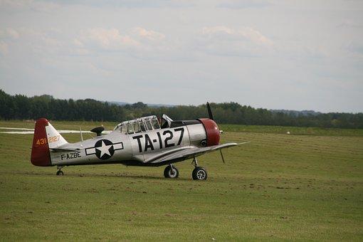 Aircraft, Meeting Aérien, Flying Club, Second War