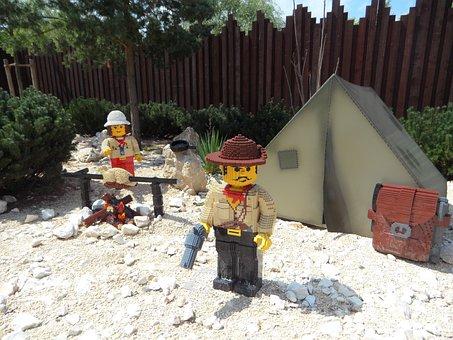 Legoland, Legomaennchen, Archaeology, Archaeologists