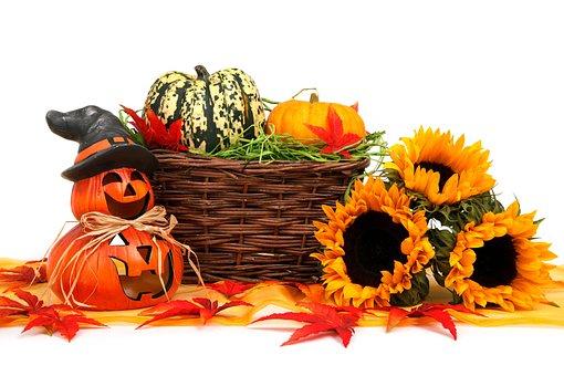 Autumn, Basket, Celebration, Decoration, Face, Fall