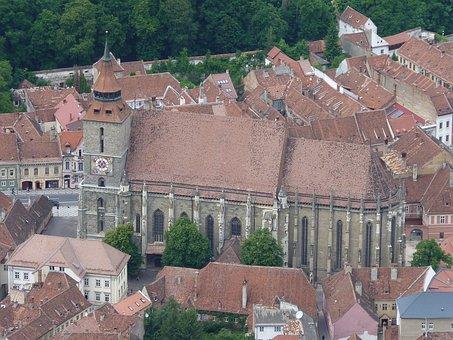 Brasov, Black, Church, Romania, City, Medieval, Europe