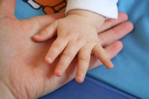 Handle, Hands, The Hand, Touch, Love, Tiny, Child