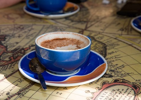 Cup Coffee, Cup, Coffee, Drink, Liquid, Saucer