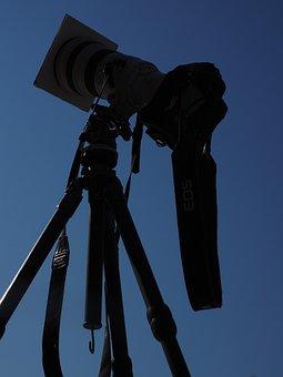 Camera, Lens, Telephoto Lens, Professional, Equipment