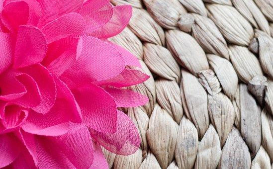 Flower, Artificial, Pink, Textile, Petals, Flora, Bloom