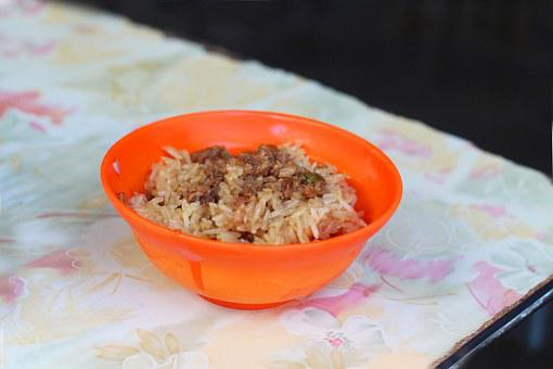 Asia, Taiwan, Food, Oil Meal, Glutinous Rice
