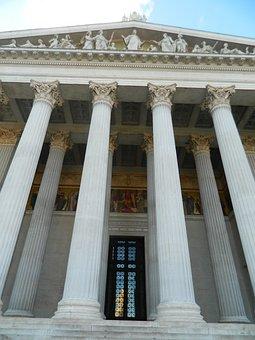 Antiquity, Columns, Sptĺporadie, Front, Entry