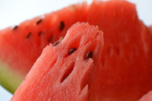 Watermelon, Fruits, Red, Refreshing, Snack, Healthy