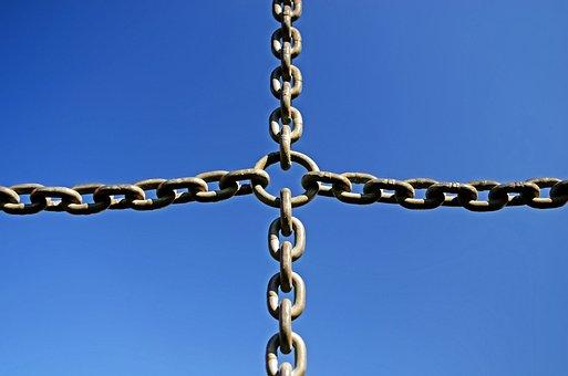Iron, Background, Chain, Metal, Steel, Solid, Design