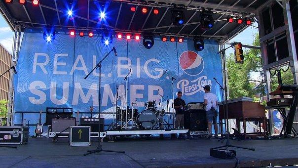 Stage, Event, Pepsi, Concert, Show, Entertainment