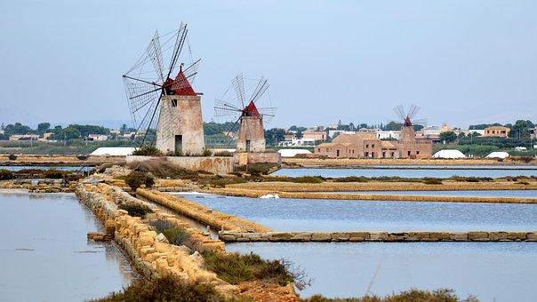 Sicily, Marsala, Salt Marshes