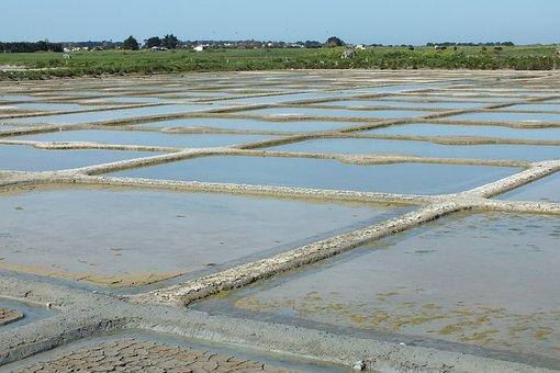 Salt Marshes, Noirmoutier, Salt