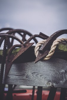 Anchor, Rope, Sea, Ocean
