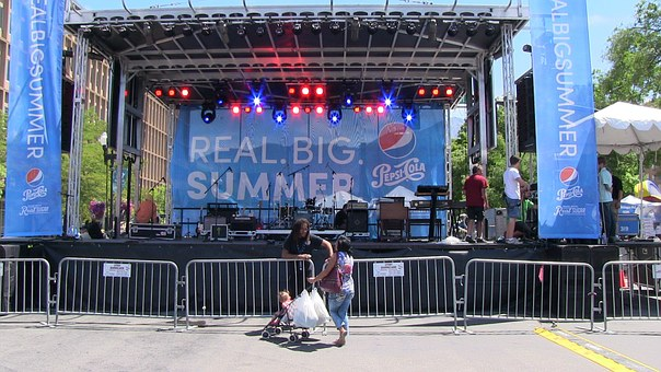Summer, Stage, Event, Pepsi, Concert, Show