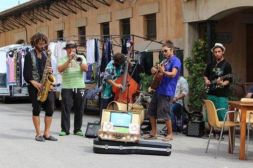 Street Musikanten, Usiker, Musicians, Live Music