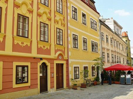 Vienna, Row Of Houses, Architecture, Places Of Interest