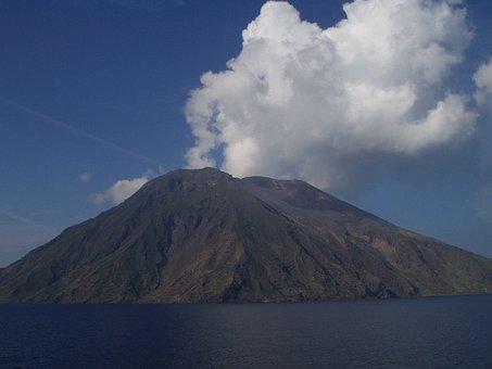 Stromboli, Volcano, Volcanism, Hot, Sulfur, Volcanic