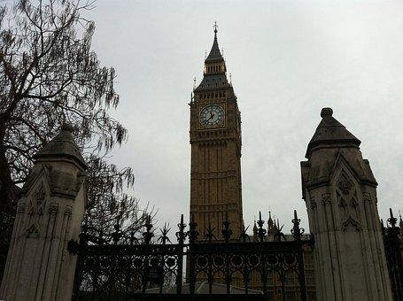 Big Ben, London, England, Westminster, Parliament