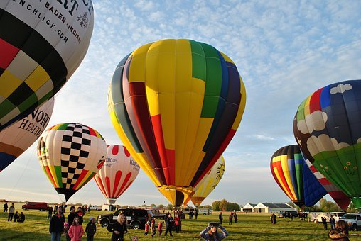 Hot Air Balloons, Balloon, Ballooning, Flight, Fly