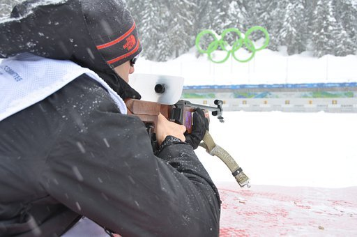 Biathlon, Skiing, Whistler, Canada, British Columbia