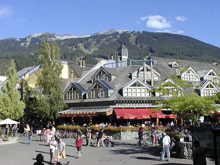 Whistler Village, British Columbia, Canada, Buildings