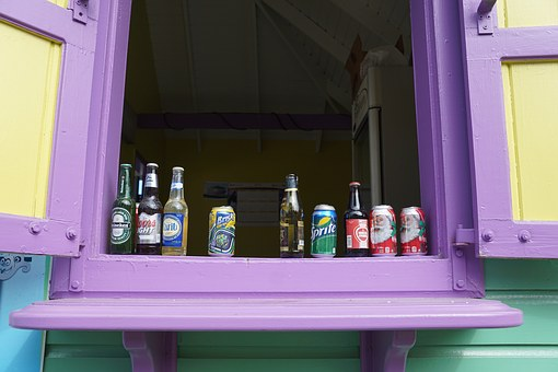 Bar, Colorful, British Virgin Island