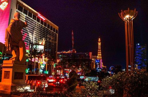 Las Vegas, Casinos, Gambling, Eiffel Tower, Flamingo