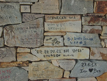 Stones, Immortalized, Name, News, Background, Wall
