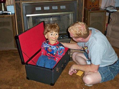 Puppet, Ventriloquist, Dummy, Superman, Superhero