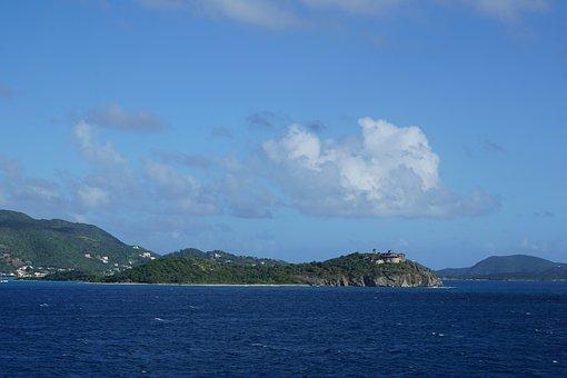 British Virgin Islands, Overseas, Island, Sea, Sky
