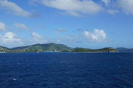 British Virgin Islands, Overseas, Island, Sea, Sky