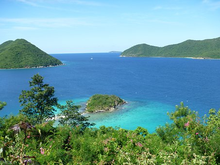 Caribbean, Island, Ocean, Turquoise, Sea, Water, Nature