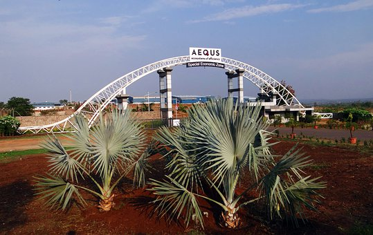 Aequs Sez, Special Economic Zone, Manufacturing, Gate