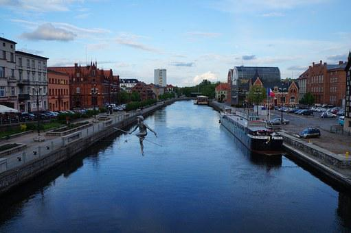 Bydgoszcz, Poland, Tightrope Walker