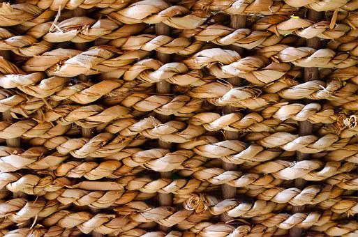 Wicker, Palm, Surface, Wallpaper, Rough, Interwoven
