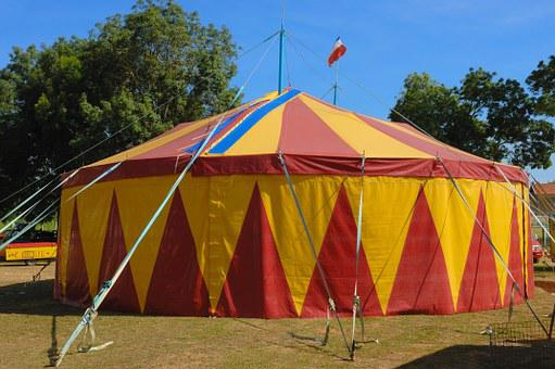 Circus, Marquee, Show, Circus Tent, Travel, Artist