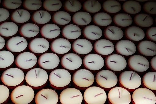 Candles, Tea Lights, Flame, Victim Candles