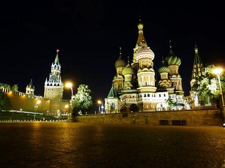 Kremlin, Moscow, Russia, Capital, Historically