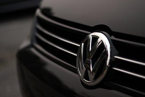 Car, Volkswagen, Vw, Shine, Reflection, Black