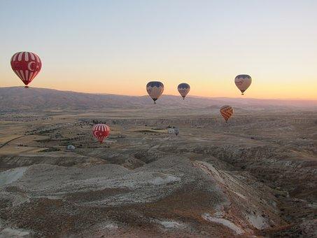 Balloon, Hot Air Balloon, Air, Hot, Colorful, Basket