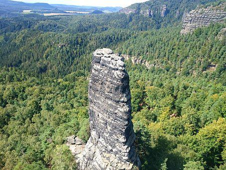 Czech Switzerland, Czech-saxon Switzerland, Mountains