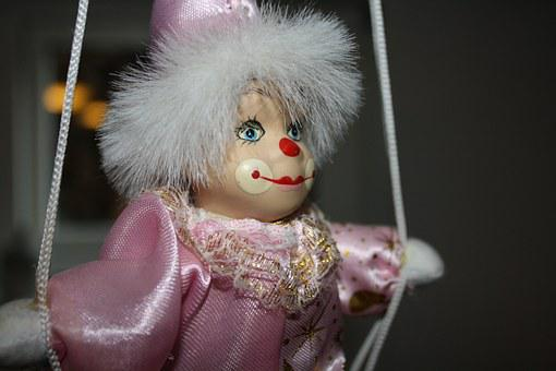 Doll, Clown, Toy, Smile, Face, Decoration, Carnival