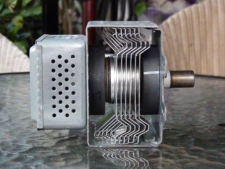 Magnetron, Microwave, Part, Electronics, High Voltage