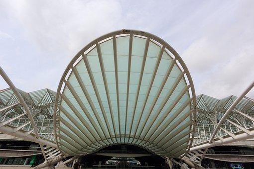 Portugal, Lisbon, Expo, Area, Station Entrance
