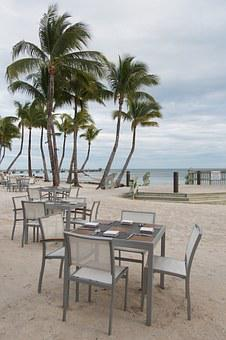 Key West, Florida, Palm Trees, Vacation, Beach
