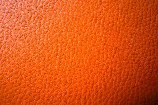 Leather, Orange, Background, Reference, Embossing