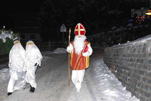 Nicholas, Tradition, Panel, Bishop, Bischofsmütze